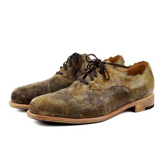 Arthur M1168 Brown leather oxford shoes