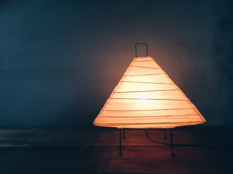 Early export of European space age pyramid lanterns