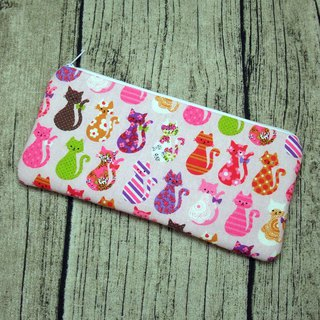 Large Zipper Pouch, Pencil Pouch, Gadget Bag, Cosmetic Bag (ZL-67)