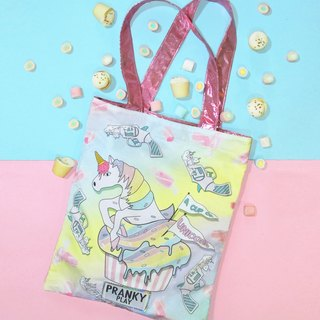 A CUP OF UNICORN TOTEBAG