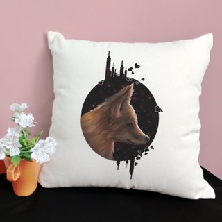 [Valentine's Day exclusive] Night cotton color canvas pillow - home decoration