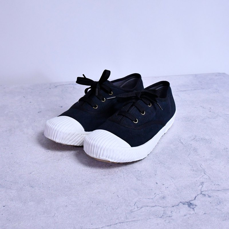FREE + dark texture plus points canvas shoes
