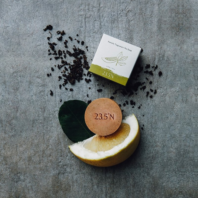 Pomelo Tieguanyin Tea Soap (e100g/ 3.4.oz.)