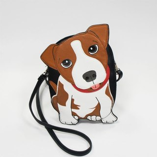 Sleepyville Critters - Jack Russel Crossbody Bag