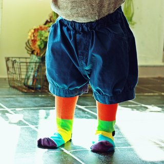 Kids Socks - Neon VII, A Todo Color - British Design for Children's Collection