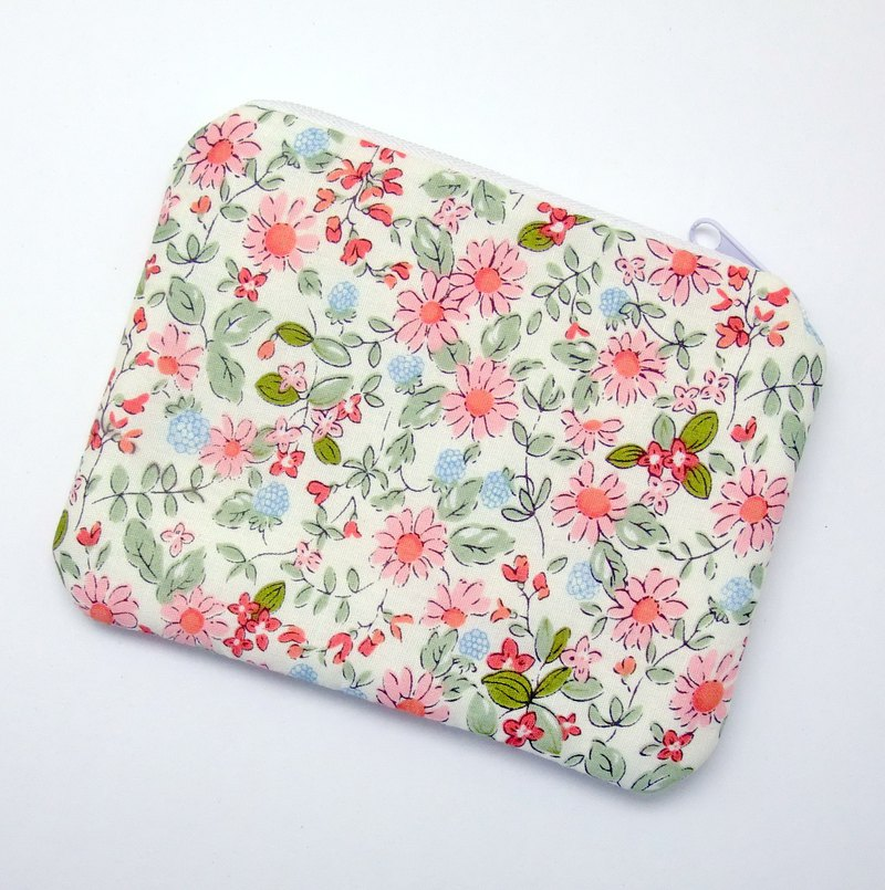 Zipper pouch / coin purse (padded) (ZS-251)
