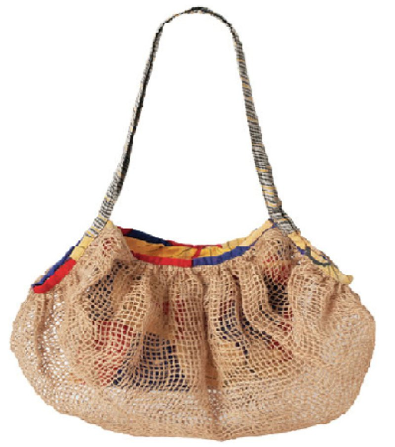 Earth tree fair trade fair trade -- can accommodate jute woven bags