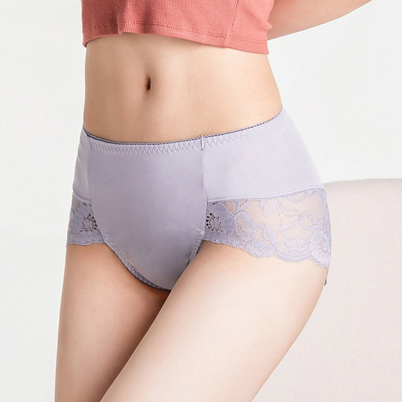 Olivia sexy high fork milk lace high waist panties