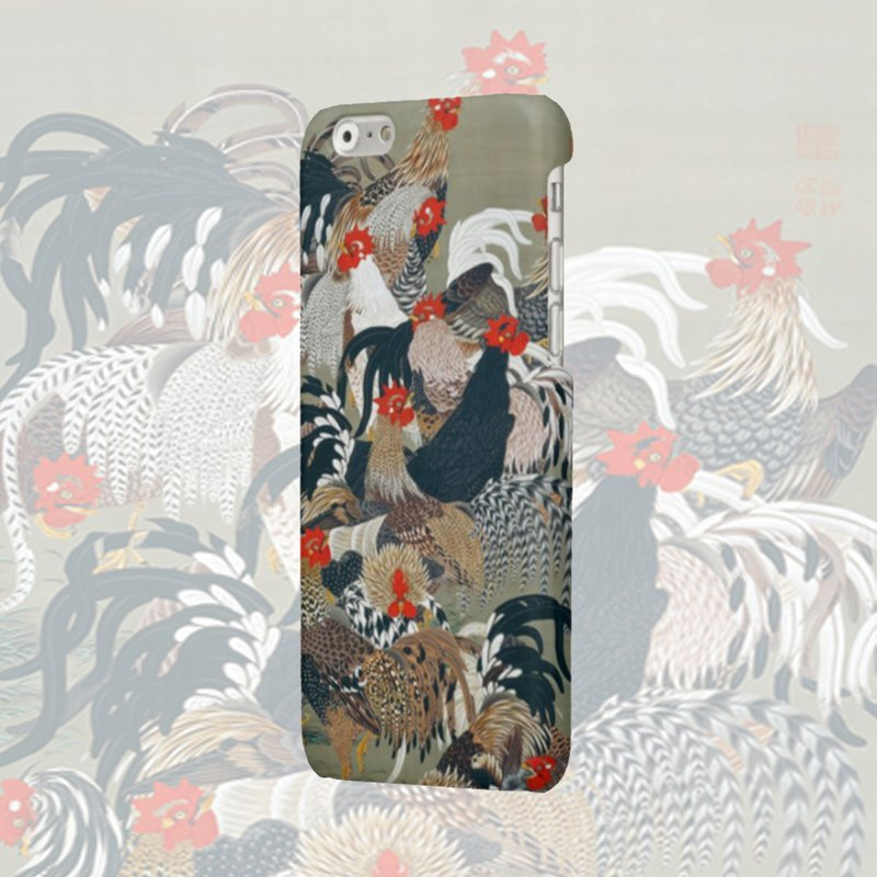 iPhone case Phone case Samsung Galaxy Case hard plastic cock japanes art  78