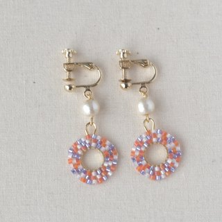 Mosaic tile earrings
