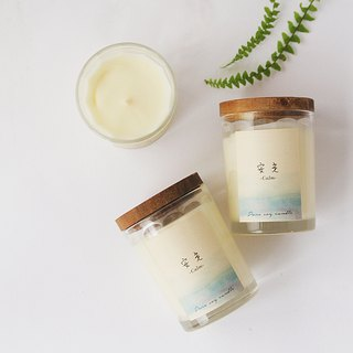 4th Floor Apartment - Natural Soy Essential Oil Candle - Calm Calm - Peaceful Grassy Scent