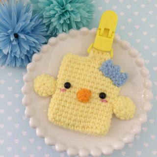 CHU CHU hand-made chickens baby safe character bag baby amulet hedgehog flat peace folder