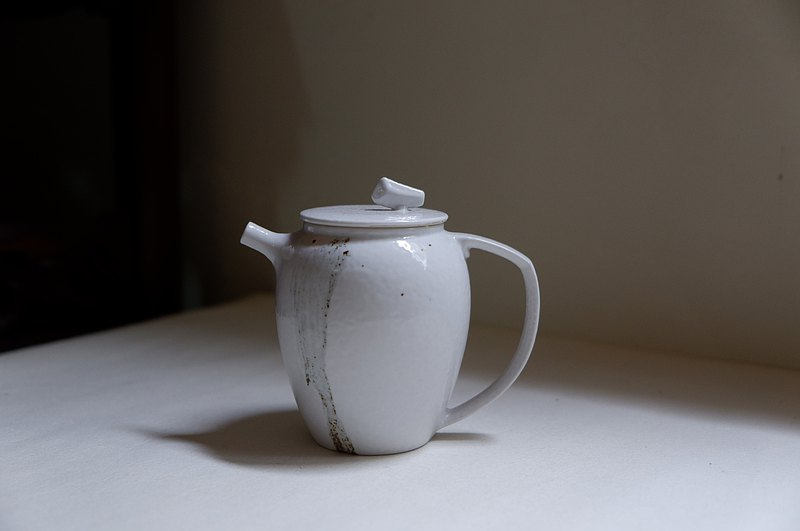 Pei Clay Dishes | Mo Yun Ding White Glaze Teapot Porcelain Pot
