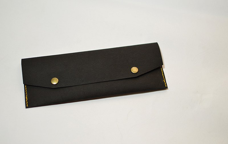 筆袋-Pencil case with Washable kraft paper_black