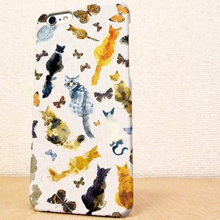送料無料☆iPhone case GALAXY case ☆猫の背中 phone case