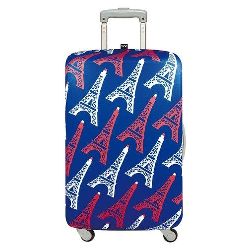 LOQI 行李箱外套/艾菲爾鐵塔 LSTREI【S號】