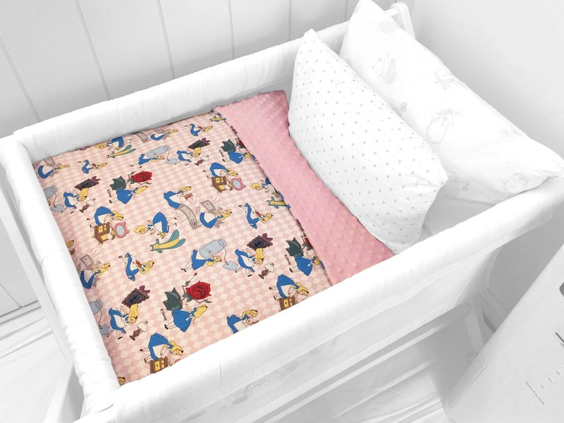 Hush Baby Handmade Receiving Blanket (Pinkdream+Pink)