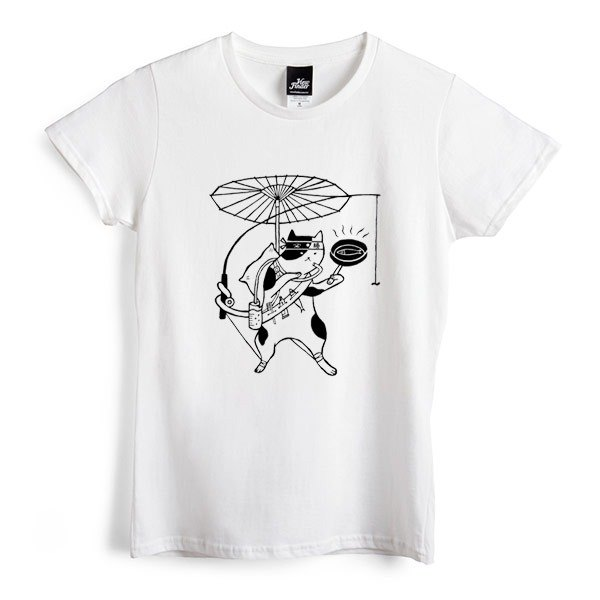 Wandering knight - White - Women's T-Shirt