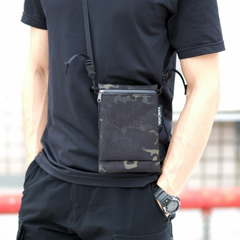 SURFACE MINI Lightweight Crossbody Bag - X50 Black Camouflage Special