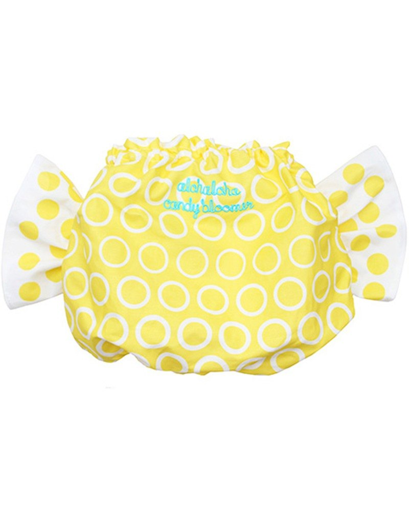 Japan ALOHALOHA wrap pants CANDY BLOOMER bubble soda yellow