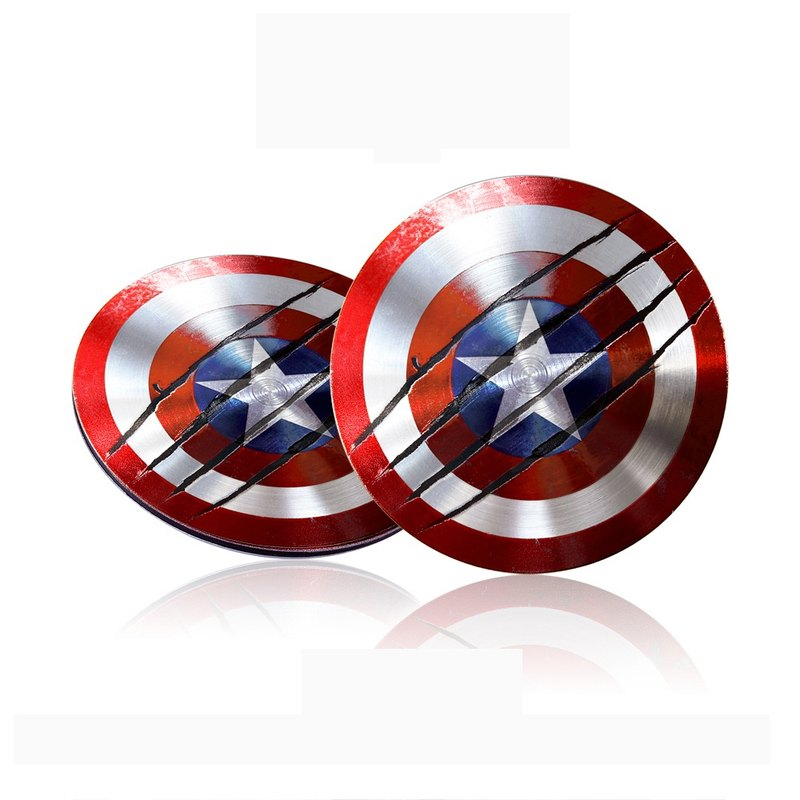 InfoThink Captain America's ultra-thin shield TYPE C / USB dual-headed drive 16GB (war damage version)
