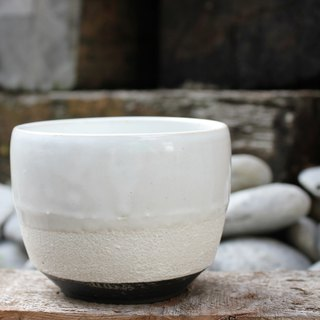 Long Series - Bright Glaze White Black Tea Bowl Tea Cup Tea Cup Ceramic Cup Tea Table Matcha Tea Bowl