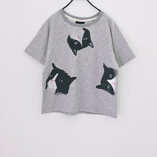 cat cat cat crop top