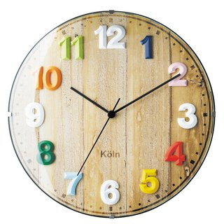 Voyage- Colourful Silent Clock Wall Clock