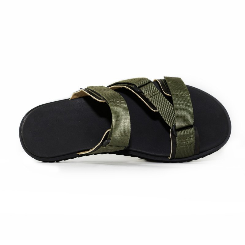 [Dogyball] Easy to wear, easy to live, simple Roman sandals, olive green