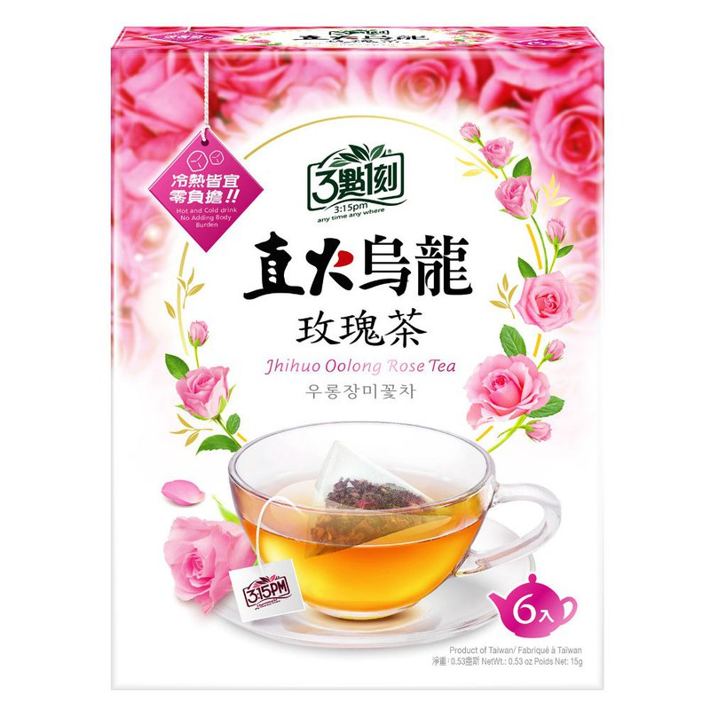 [3:1] Direct fire oolong rose tea 6 into / box