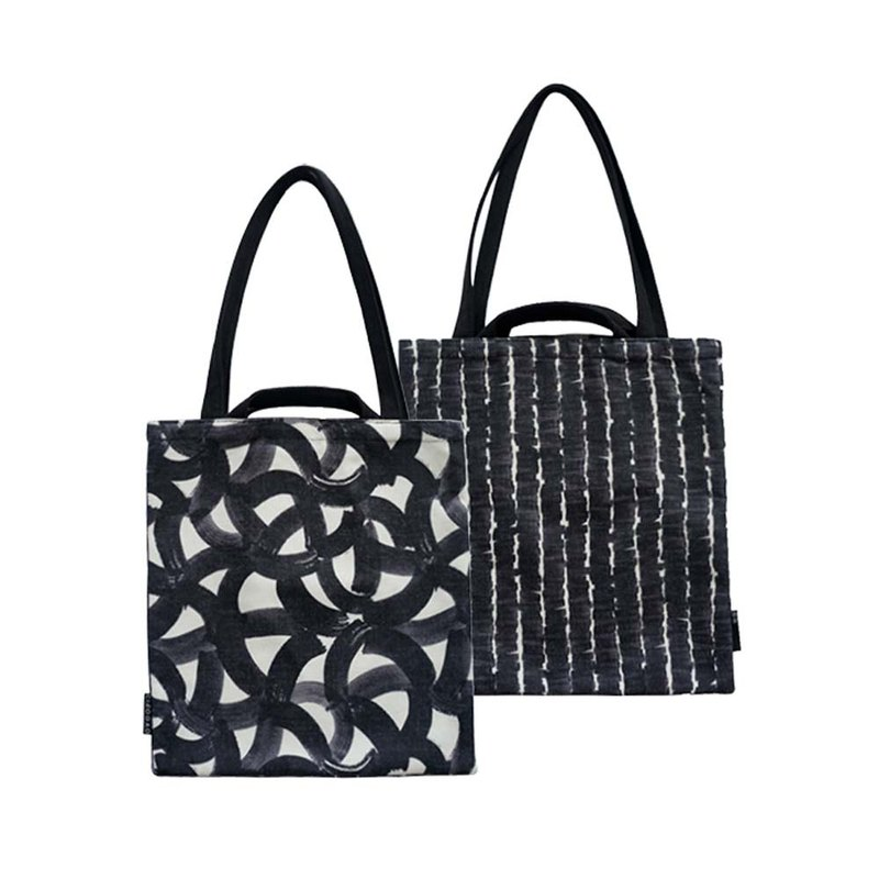 [draft / ciaogao] original design Nordic style shopping bag tote bag ink indigo