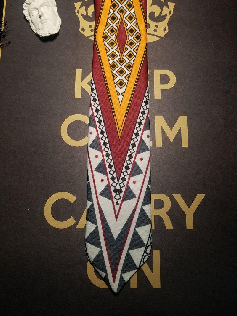 高級花色領帶巴羅克風潮復古潮人領帶