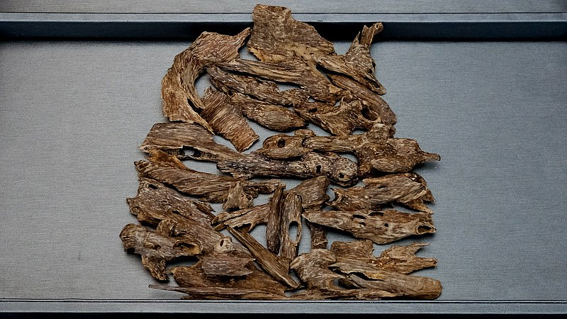 Burmese insect leakage agarwood incense raw material 10g
