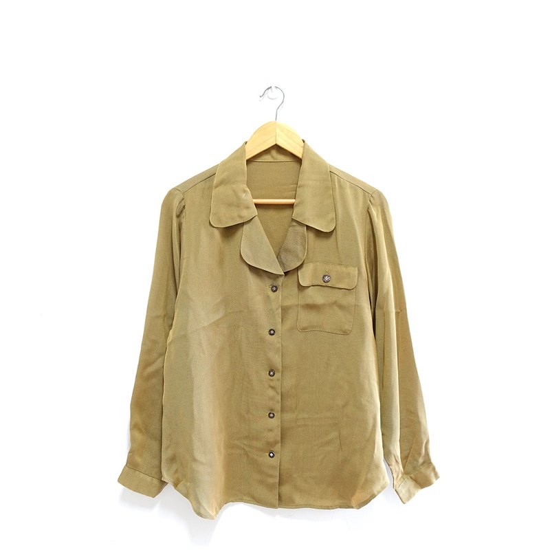│Slowly│Forest breath - vintage shirt │vintage. Retro. Literature. Made in Japan