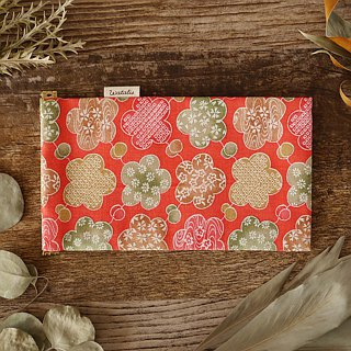 Kimono sunglasses case produced big pussy and big flowers drawn