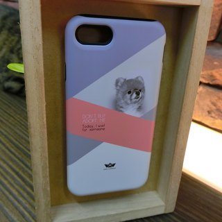 "3D Protective Bumper Case climax ""My Dog # 2"" / gentle touch han scratch Phone Case [Customizable aircraft models: iPhone Full Model / Series NOTE.S Samsung / LG]"