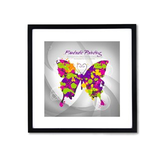 HomePlus Decorative Frame - Butterfly 43x43cm Homedecor Loft