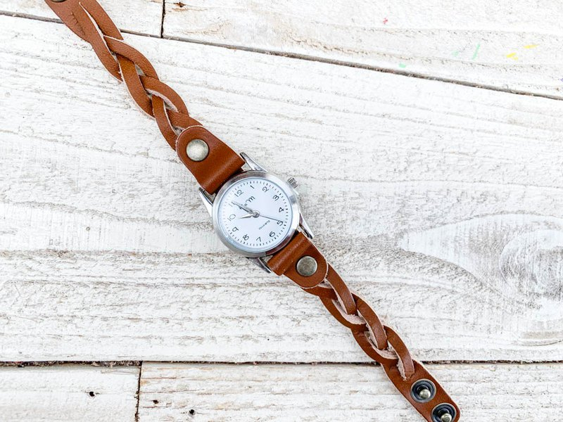 EDGE Basic Natural Style Edge Knit Watch On Off OK EKW-BB