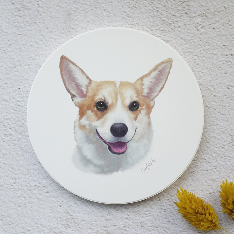 Coaster Of Corgi