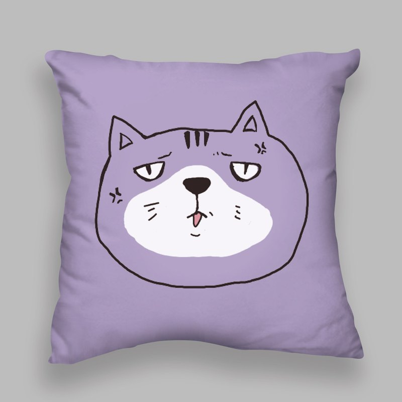 Mood Zoo / Cat Rage Pillow / Pillow / Cushion / Exchange Gifts