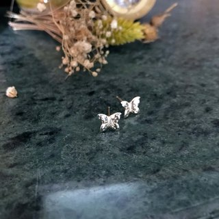 Little Butterfly Butterfly Silver / Earring Ring Earring / Màn Worker