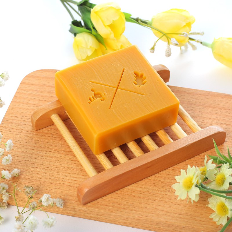 Calendula Milk Soap - Moisturizing All skin types are also suitable for baby and allergic skin