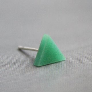 Triangle Earrings ▽ 427 / Have a Nice Day ▽ Single Stud