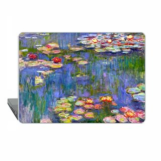 Claude Monet Macbook touch case classic art Case MacBook Air case Water Lilies macbook 11 Macbook Pro Retina case impressionist Case Hard 1507