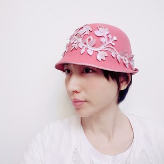*Pink Dream*felt hat