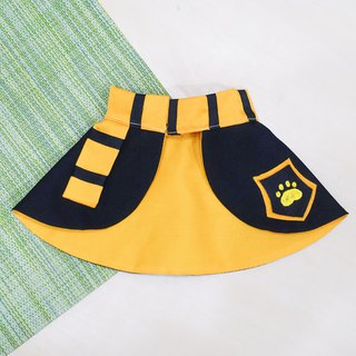 Limited Edition* Magic Academy Pet Shawl - Yellow College