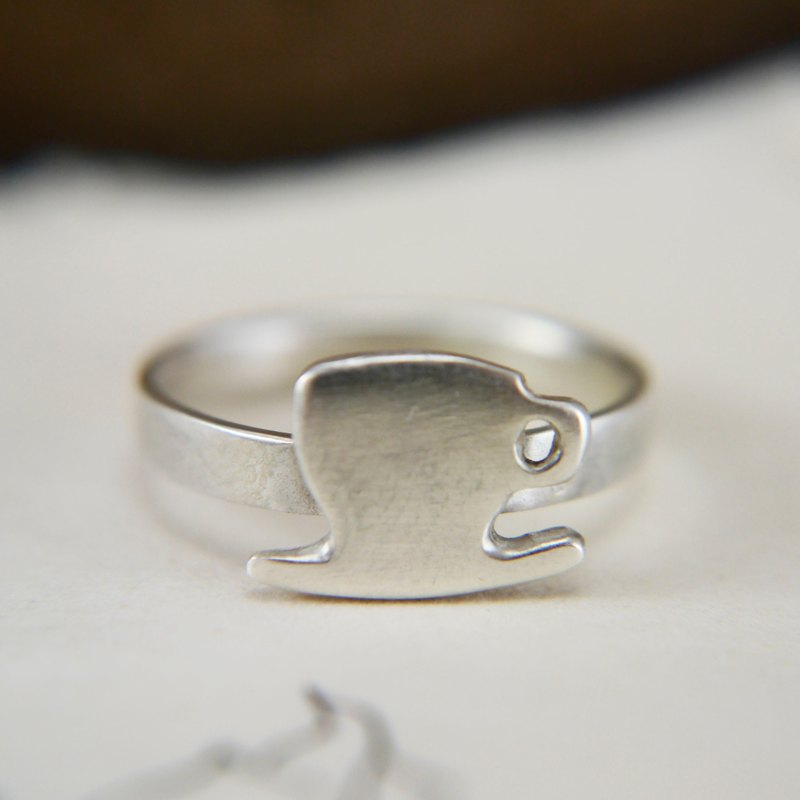 COFFEE// Coffee Cup Ring