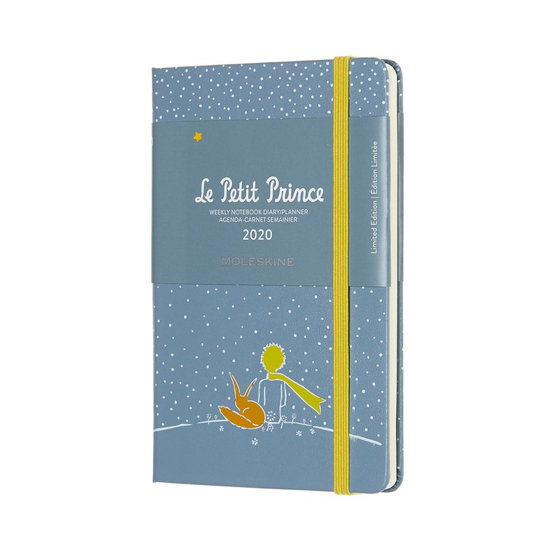 MOLESKINE 2020 Little Prince Zhou Ji 12M - Pocket Grey