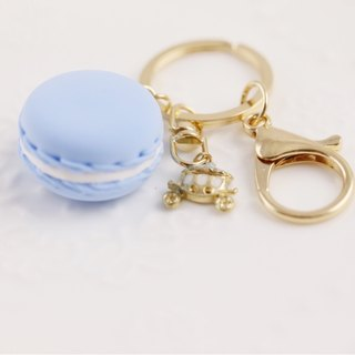 Macarons charms wedding small things water blue horse car models