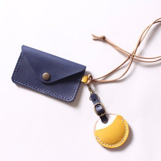 Envelope small wallet with hangable key key case